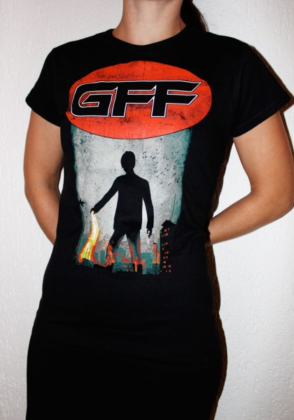 "Girlieshirt ""Ice on Fire"""